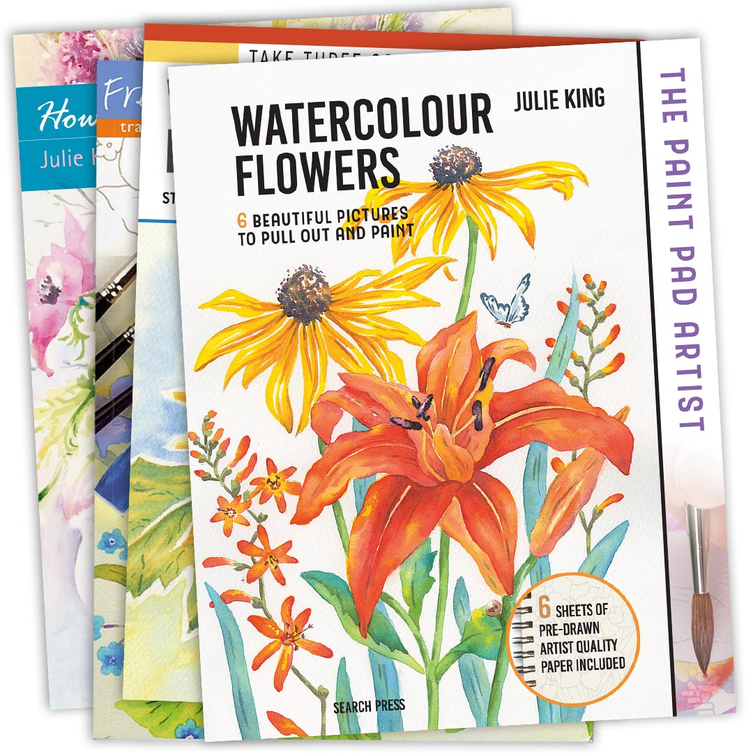 Books by watercolour artist Julie King