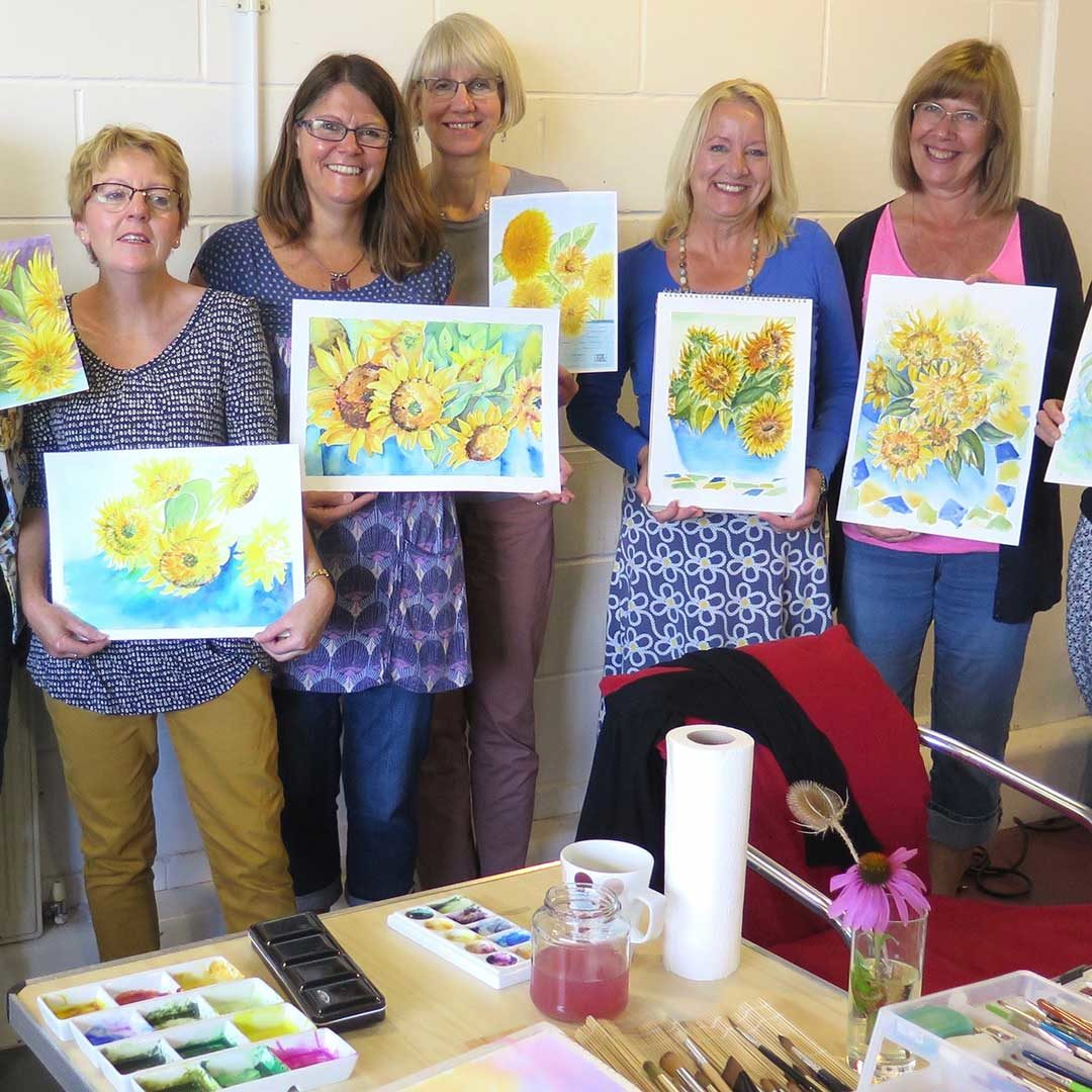 Watercolour Classes in Kent by Julie King