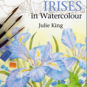 Irises in Watercolour by Julie King
