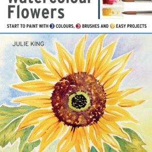 Take Three Colours: Watercolour Flowers by Julie King