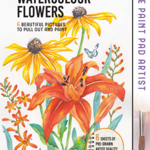 The Paint Pad Artist: Watercolour Flowers by Julie King