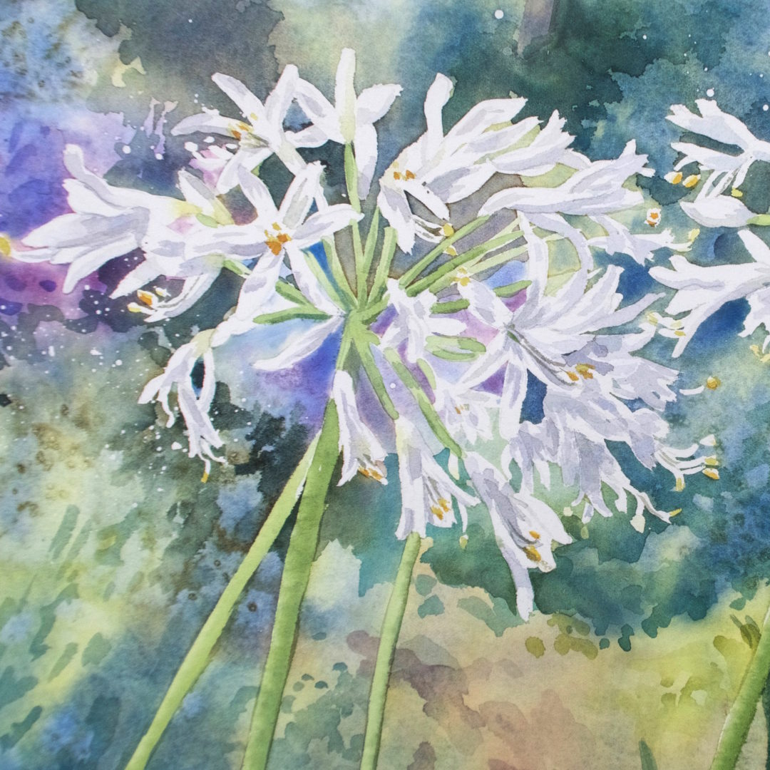 A Watercolour Painting by Julie King