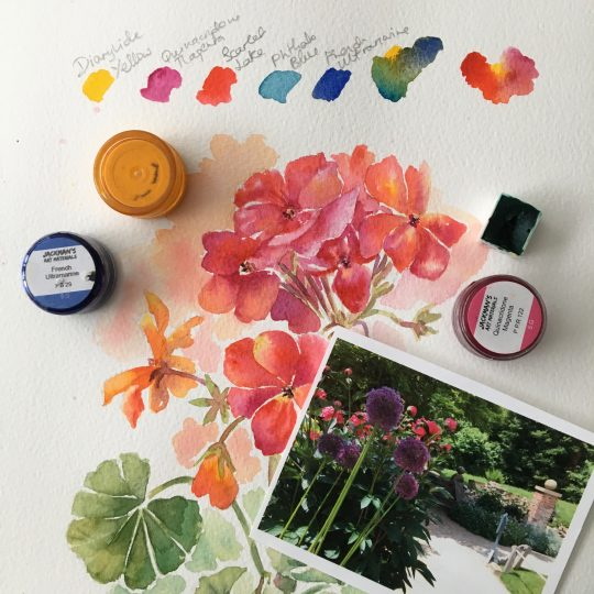 Summer Days in Watercolour
